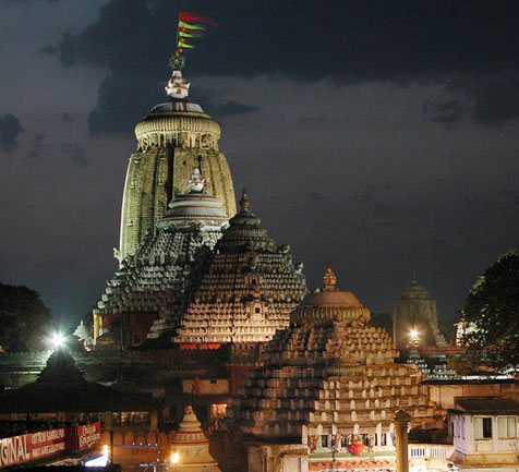 Puri's Main Attraction - Jagannath Temple