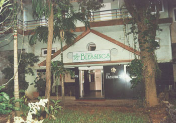 Hotel Blessings, Goa hotel