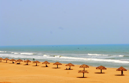 beautiful puri beach