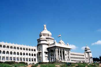 Bangalore Tourist Attraction - Vidhan Soudha