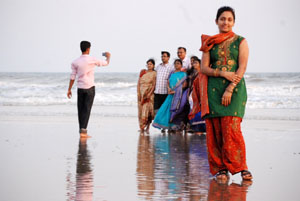 Family Vacation on Puri Beach