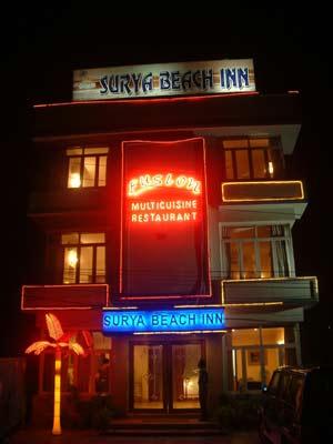 Surya Beach Inn / Pushpak, Puri hotel