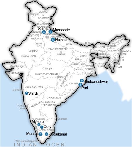 Top 10 Place To Visit In Kodaikanal India Tourism Tat